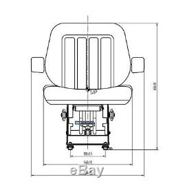 Massey Ferguson 390 Tractor Seat (Cloth)