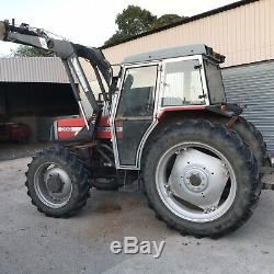Massey Ferguson 390 loader tractor