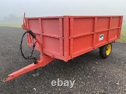 Massey Ferguson 3.5 Ton Single Axle Trailer Grain Trailer For Tractor VGC