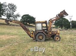 Massey Ferguson 40 Digger Tractor