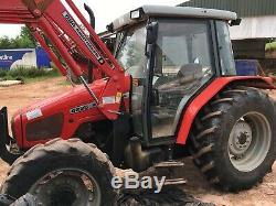 Massey Ferguson 4225 With Loader Only 890 Hours. 65hp