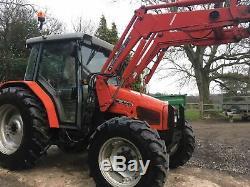 Massey Ferguson 4245 Loader tractor