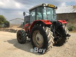 Massey Ferguson 4255 4WD Tractor With MX100 Loader And Bucket