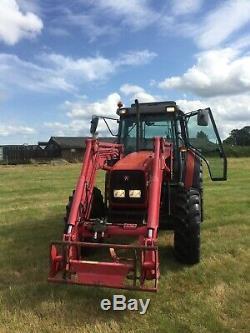 Massey Ferguson 4260 100hp loader tractor quickie