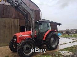 Massey Ferguson 4270 Tractor, 4wd, Quicke Loader, 110hp 6cyl