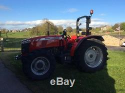Massey Ferguson 4709 4WD Manual Tractor With Options 2016/66 Reg Very Low Hours