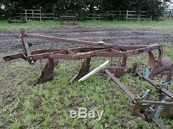 Massey Ferguson 4 Furrow Plough