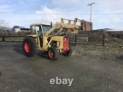 Massey Ferguson 50B 2WD Tractor & Loader 3 Point Linkage Similar 165