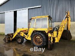 Massey Ferguson 50B Digger Backhoe Loader Tractor 4 in 1