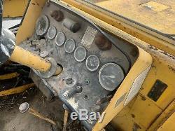 Massey Ferguson 50B Digger Loader Tractor