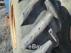 Massey Ferguson 50B Rear Wheels & Tyres 16.9 / 14-28