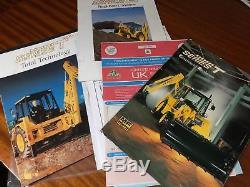 Massey Ferguson 50 HX 4wd Digger Loader Yellow