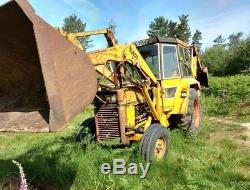 Massey Ferguson 50b Tractor Digger Loader Ideal For Self Build Poss P/ex Swap