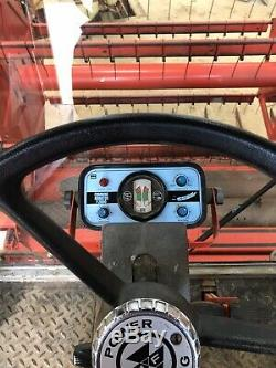 Massey Ferguson 535 combine harvester. 12ft Header