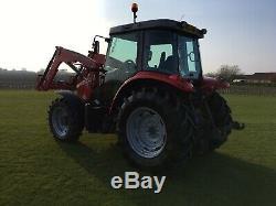 Massey Ferguson 5410 Tractor c/w MF 917 Loader. 1303 Hours Only
