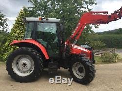 Massey Ferguson 5455 Tractor & Loader