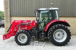 Massey Ferguson 5455 Tractor Loader 2013