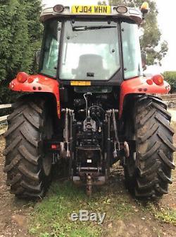 Massey Ferguson 5455 loader tractor 6000 hours 40k