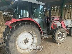 Massey Ferguson 5455 tractor with Loader