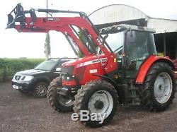 Massey Ferguson 5460 with loader