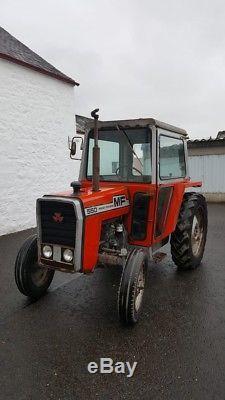 Massey Ferguson 550 Tractor