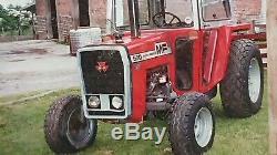 Massey Ferguson 550 Tractor. SOUND ENGINE & DRIVE LINE. LIGHT USE ON GOLF COURSE