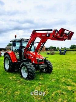 Massey Ferguson 5610 4wd Loader Tractor 2013 VERY LOW HOURS MF/Quicke. EXTRAS