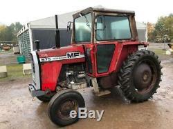 Massey Ferguson 575 590 tractor loader MF Massey massey ferguson tractor mf