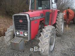 Massey Ferguson 590 Tractor 4WD