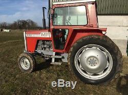 Massey Ferguson 590, off Farm, project, barn Find, tractor, V5 Present