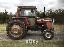 Massey Ferguson 590 tractor (2WD) with MF 80 loader
