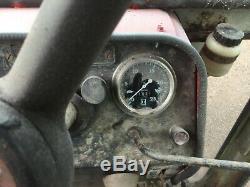 Massey Ferguson 595 2wd antique tractor, Perkins engine