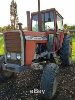 Massey Ferguson 595 Tractor No Vat