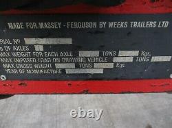 Massey Ferguson 5 Tipping Trailer / Massey Ferguson Trailer / Tipping Trailer