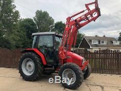 Massey Ferguson 6140 Slop Nose Tractor Cw Mf 905 Self Levelling Loader