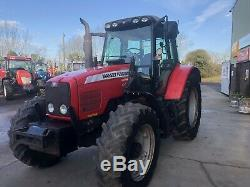 Massey Ferguson 6465 Tractor and Loader