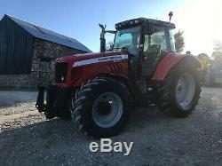 Massey Ferguson 6480 4WD Tractor 50K 5300 Hours