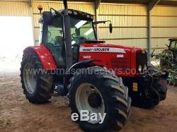Massey Ferguson 6480 Tractor (Dyna 6, Front linkage, Full suspension,)