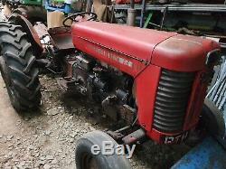 Massey Ferguson 65 4 cylinder tractor