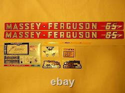 Massey Ferguson 65 Decal Set