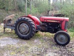 Massey Ferguson 65 Mk2 Tractor