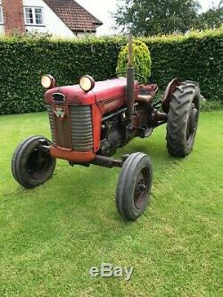 Massey Ferguson 65 MkII Tractor 1961