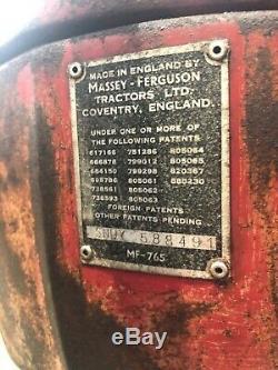 Massey Ferguson 65 Mk II