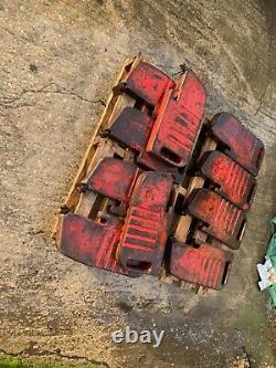 Massey Ferguson 65 Tractor Original Front Weights. Rare