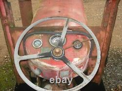 Massey Ferguson 65 vintage diesel tractor for restoration
