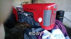 Massey Ferguson 65 vintage diesel tractor for sale