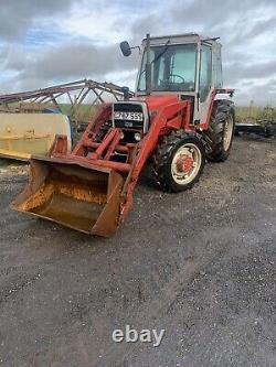 Massey Ferguson 675 4x4 Loader Tractor