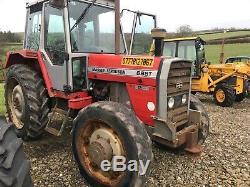 Massey Ferguson 698T tractor MF Massey massey ferguson MF 390t 290 698t mf 390