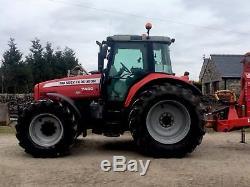 Massey Ferguson 7480 tractor. Not fendt case claas