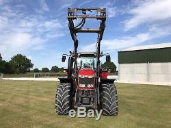 Massey Ferguson 7618 Tractor & Loader. 50k 6000 Hours